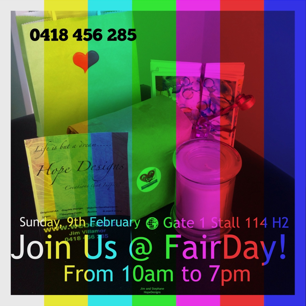 FairDay tomorrow! Join us!